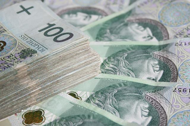 Stos banknotów