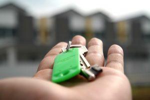kluczyki do kupionego domu